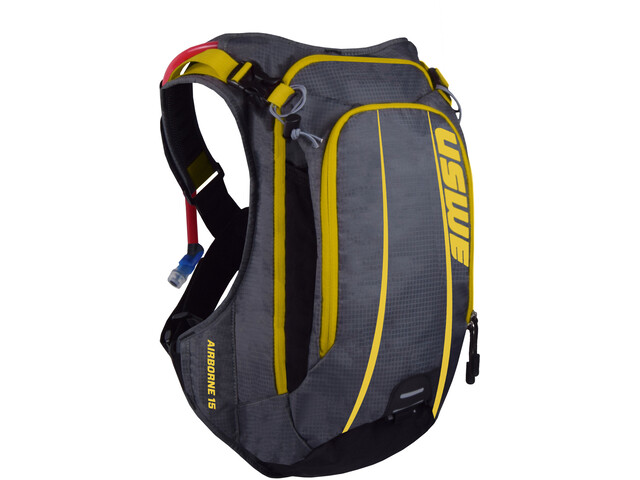 USWE Airborne 15 Backpack grey/yellow